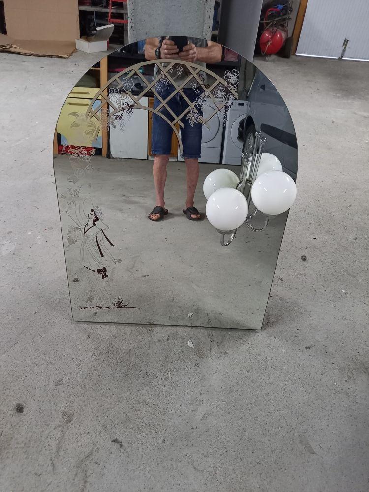 beau miroir bon état 50 Carquefou (44)