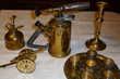 Beau lot d'objets en cuivre pour décoration Aubusson (23)