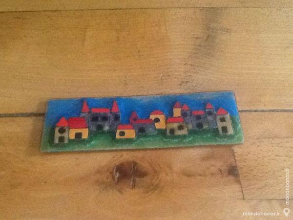 Beau petit tableau sur céramique. 15 Mouxy (73)