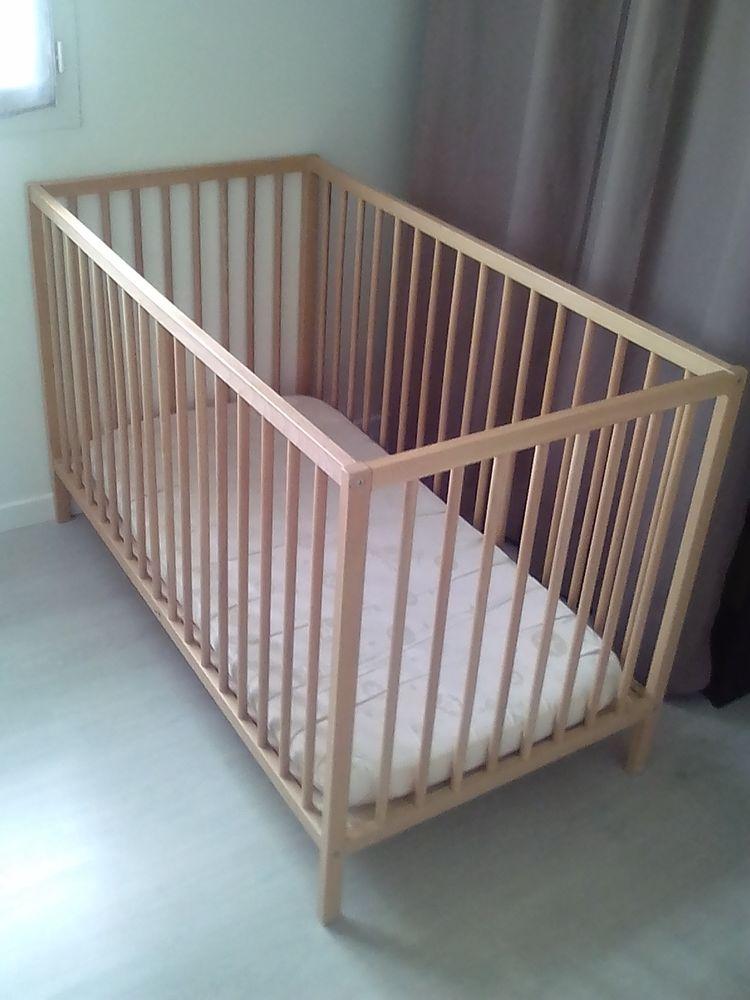 Lit bébé 60x120 avec matelas Mobilier enfants