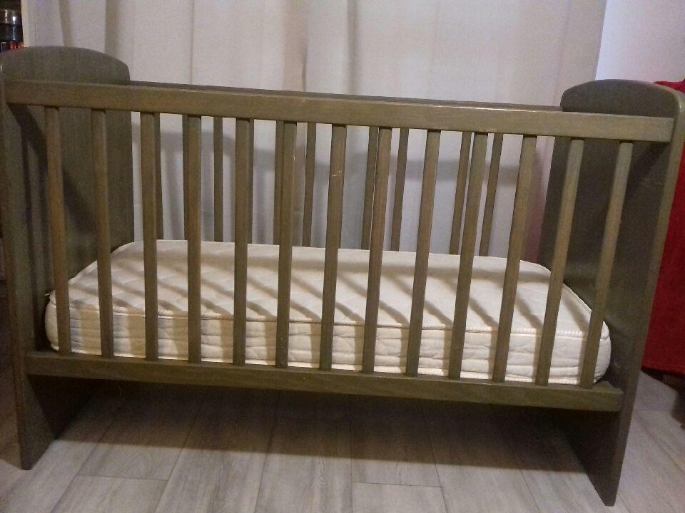 Lit bébé à barreaux en bois massif  35 Plaisir (78)