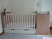 Lit bébé combiné évolutif Combilit - Vertbaudet 300 Meylan (38)