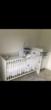 lit de bébé 140*70 + commode table à langer 150 Valognes (50)