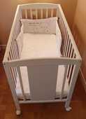 Lit  bébé / enfant à barreaux 99 Berck (62)