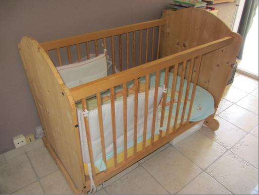 Lit Bois Naturel Bebe : Achetez lit bebe evolutif en neuf – revente cadeau, annonce vente ?