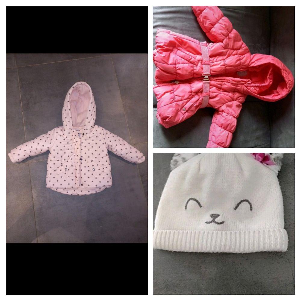 Lot bébé fille 18 mois hiver printemps  50 Saint-Julien-sur-Bibost (69)