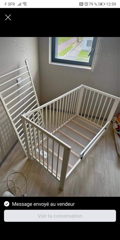 Lit bébé IKEA modèle Gulliver en TBE  30 Anglet (64)