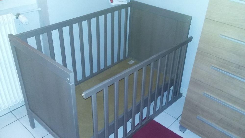 Lit bébé + matelas 90*60 50 La Teste-de-Buch (33)