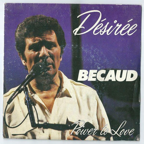 Bécaud Désirée 45 tours 3 Divion (62)