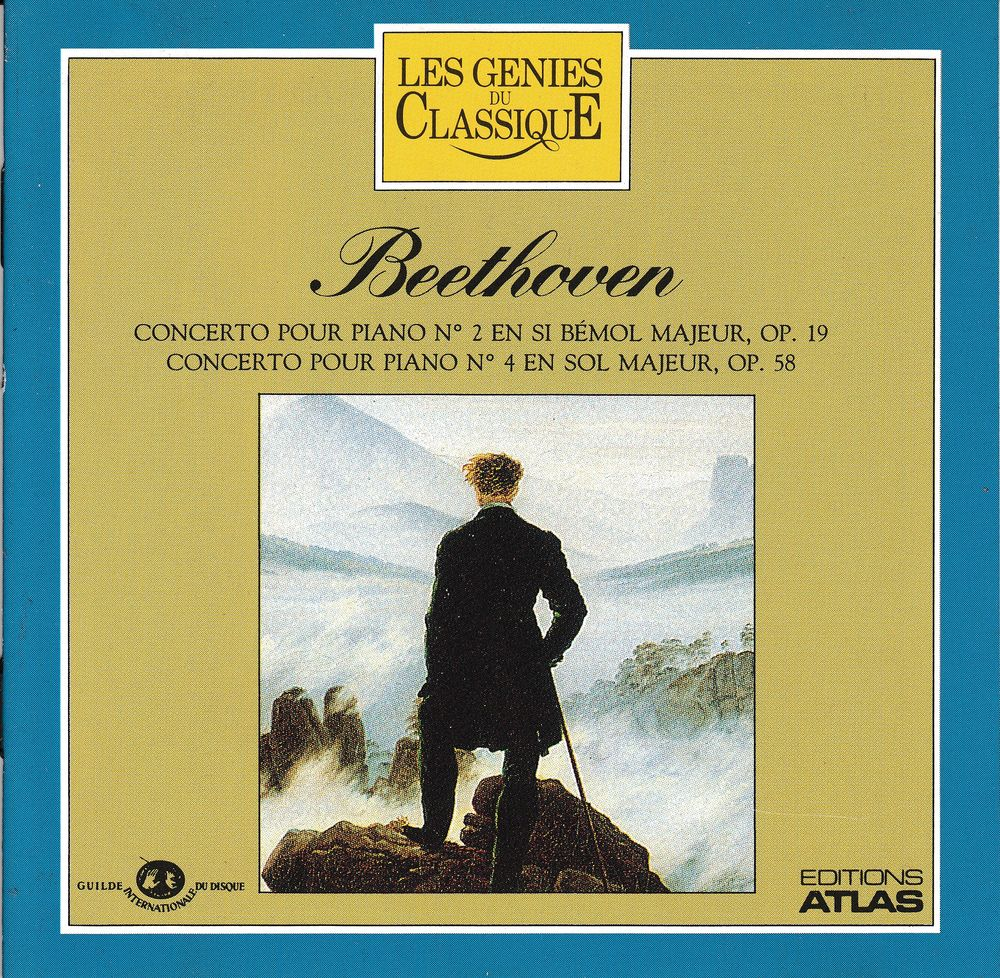 CD    Beethoven     Concerto Pour Piano     N°2 & N°3 4 Antony (92)