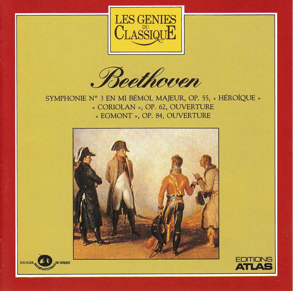 CD    Beethoven    Symphonie N°3  Héroïque  4 Antony (92)