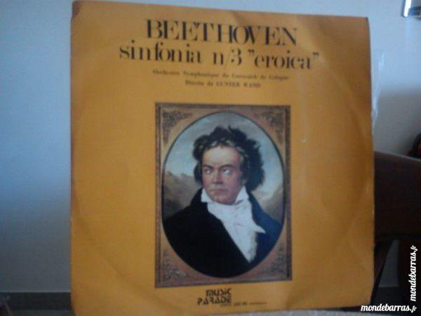 BEETHOVEN Vynil classique 33 tours CD et vinyles