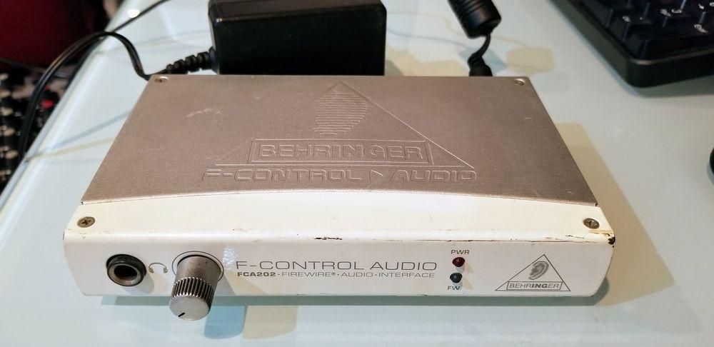 Behringer F-Control Audio FCA202 40 Six-Fours-les-Plages (83)