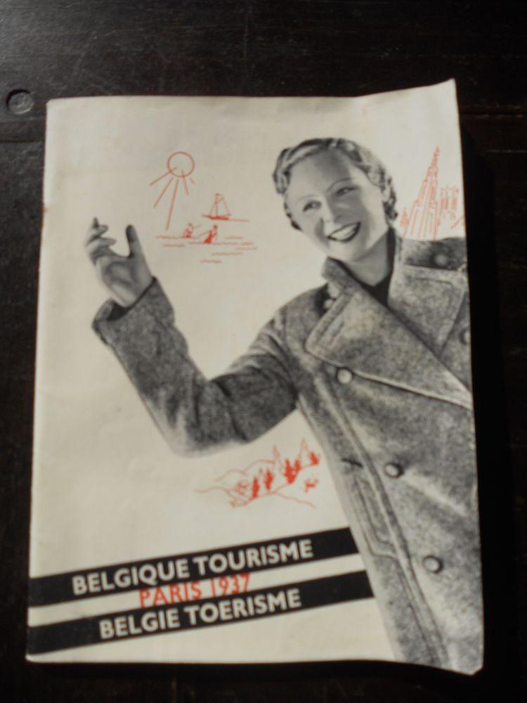 BELGIQUE TOURISME PARIS 1937. PUBLICITÉ. BELGIE TOERISME Livres et BD