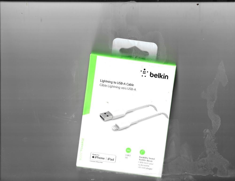 Belkin Câble Lightning vers USB-A Téléphones et tablettes