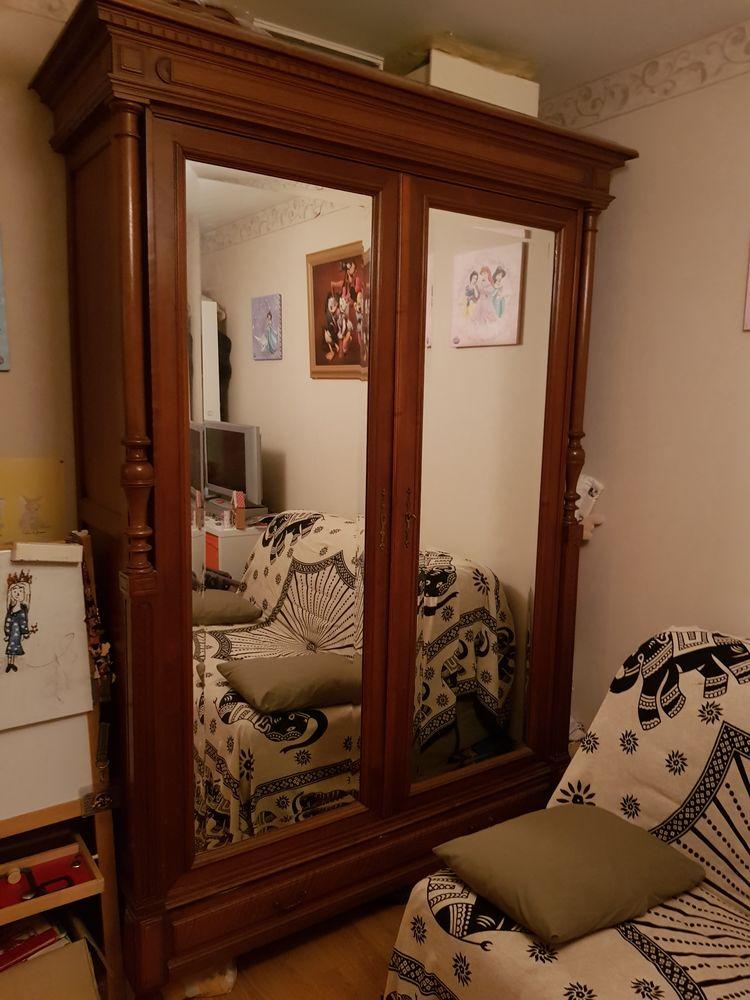Belle armoire ancienne 120 Plassay (17)