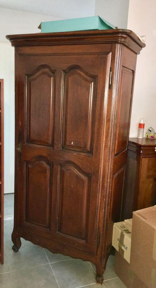Belle armoire ancienne en chêne. H 1m87. 90x48 cm 130 Gujan-Mestras (33)