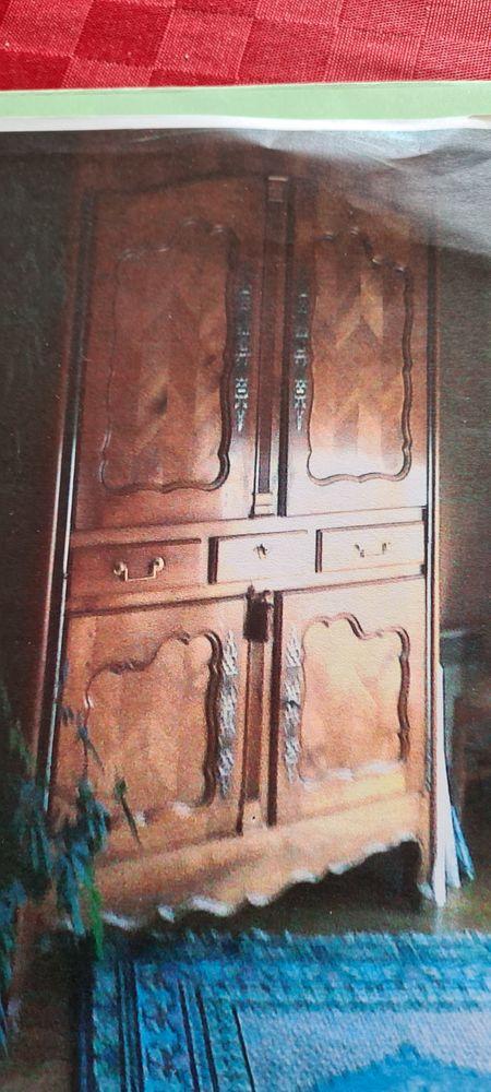 belle armoire ancienne en bois merisier couleur miel 400 Vincennes (94)