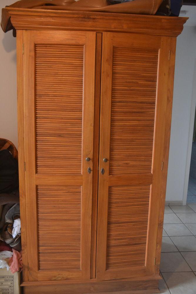 Belle armoire en teck 900 Le Tampon (97)