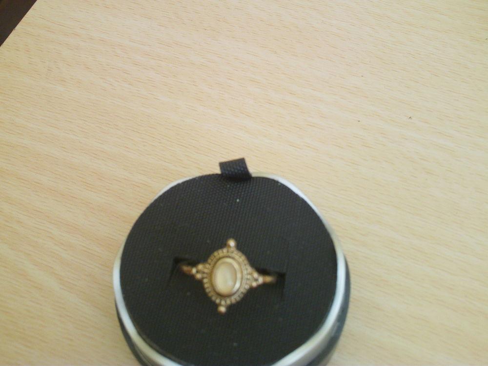 Belle bague vintage  travaillée dorée or fin N°809 15 Bragny-sur-Saône (71)