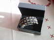 Belle barrette fleurs brillantes N° 516 Bijoux et montres
