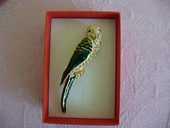 Belle broche oiseau émaillée,bijou de qualité 18 Poitiers (86)