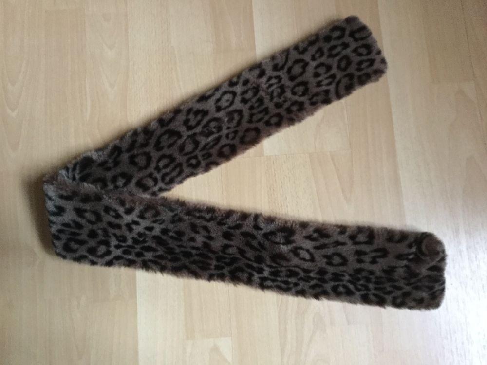 Belle étole en fourrure léopard synthétique. 5 Coubron (93)