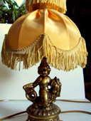 belle lampe ancienne avec un ange ou amour en bronze 50 Clermont-Ferrand (63)