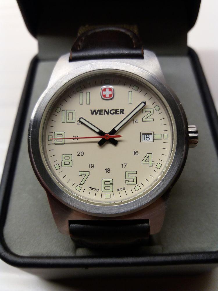 belle montre armée suisse WENGER quartz  110 Belgique
