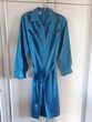Belle robe au bleu lumineux en soie - 40/42  TBE