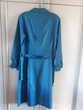 Belle robe au bleu lumineux en soie - 40/42 TBE Vêtements