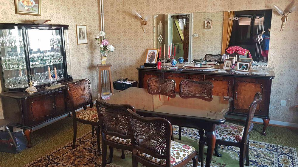 Belle salle à manger Style Chippendale années 50 0 Kaltenhouse (67)
