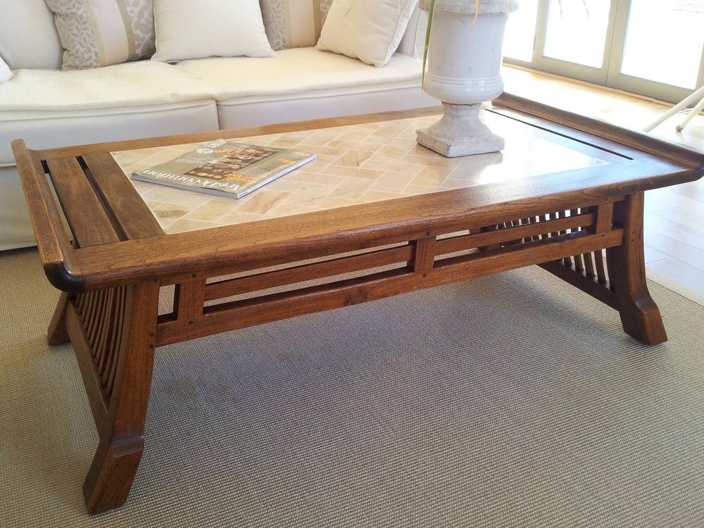 Belle Table basse bois massif, modèle unique 199 Toulouse (31)
