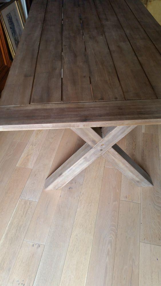 Belle table bois massif rectangulaire Meubles