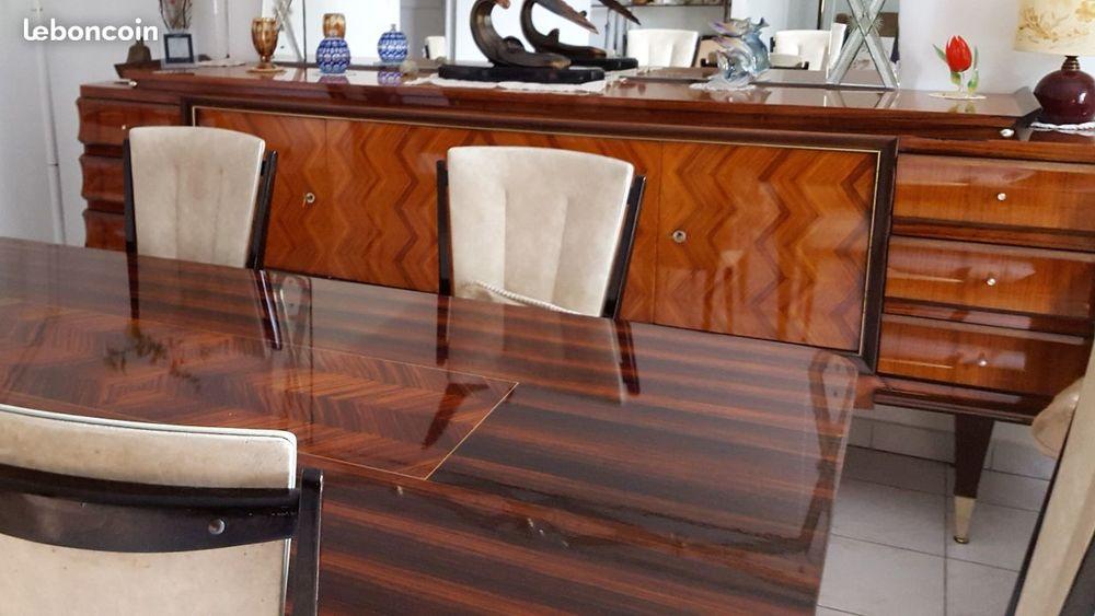 Belle table en palissandre 50 Orange (84)
