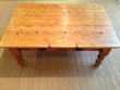 BELLE TABLE EN VIEUX BOIS MARQUE  INTERIOR'S