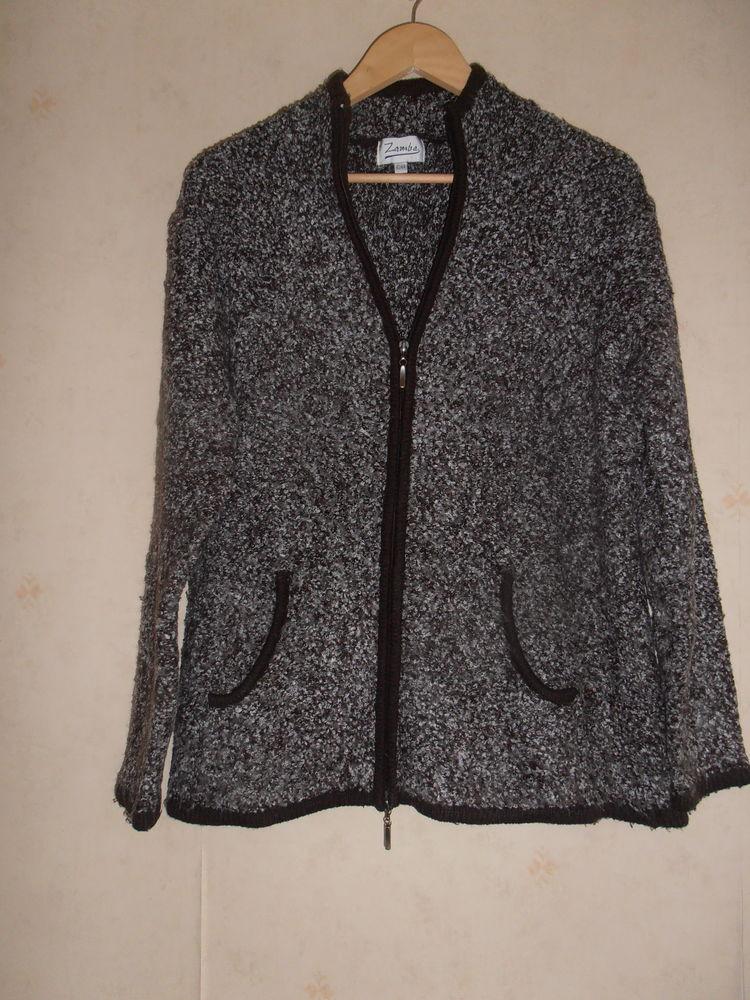 Belle veste chinée (82) Vêtements