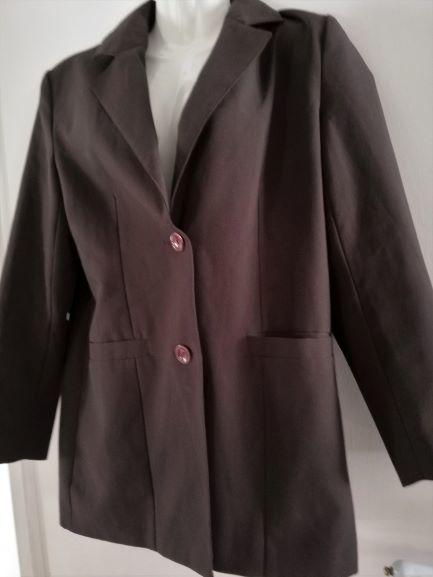Belle veste marron doublée poches T 38 7 Clermont-Ferrand (63)