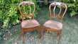 lot de 2 belles chaises anciennes le lot 30 € Les Brouzils (85)