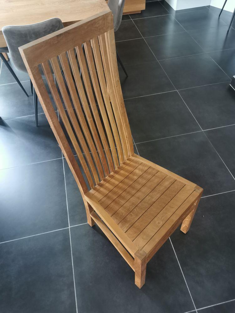 4 belles chaises en teck 220 Lorient (56)