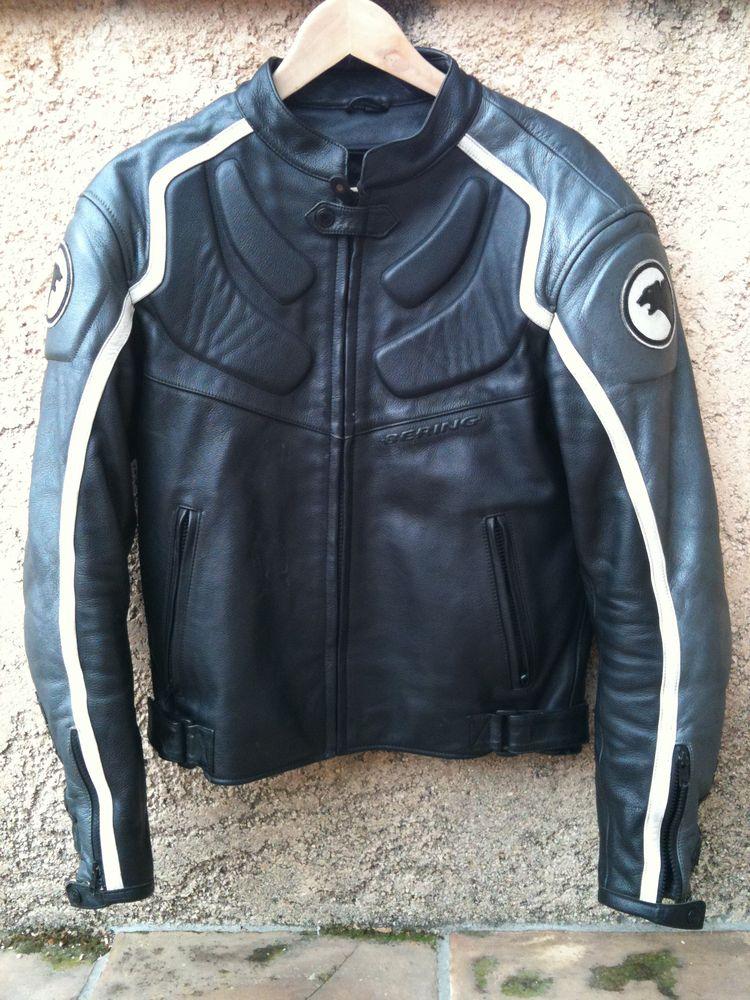veste moto cuir homme bering les vestes la mode sont populaires partout dans le monde. Black Bedroom Furniture Sets. Home Design Ideas