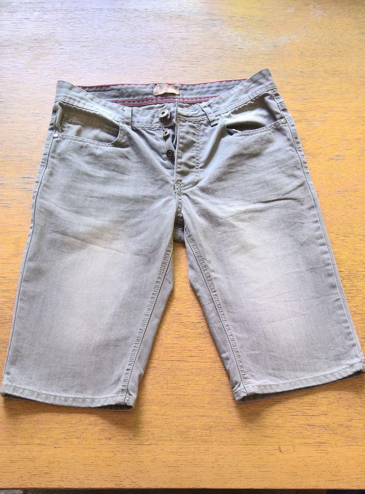 Bermuda jean gris (homme) 3 Bois-Colombes (92)