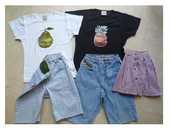 10 ans - 2 bermudas - 2 T. shirts - 1 jupe - zoe 2 Martigues (13)