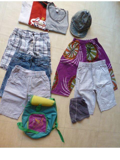 4 et 6 ans - bermudas, tee shirts, .... zoe 3 Martigues (13)