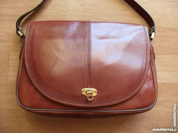 SAC BESACE CUIR MULTIPOCHES 90 Chantilly (60)