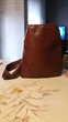 Sac/besace en cuir vintage OKAYSAC 1970.