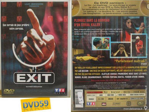 DVD : Luc Besson présente: EXIT (thriller) 3 Mons-en-Barœul (59)
