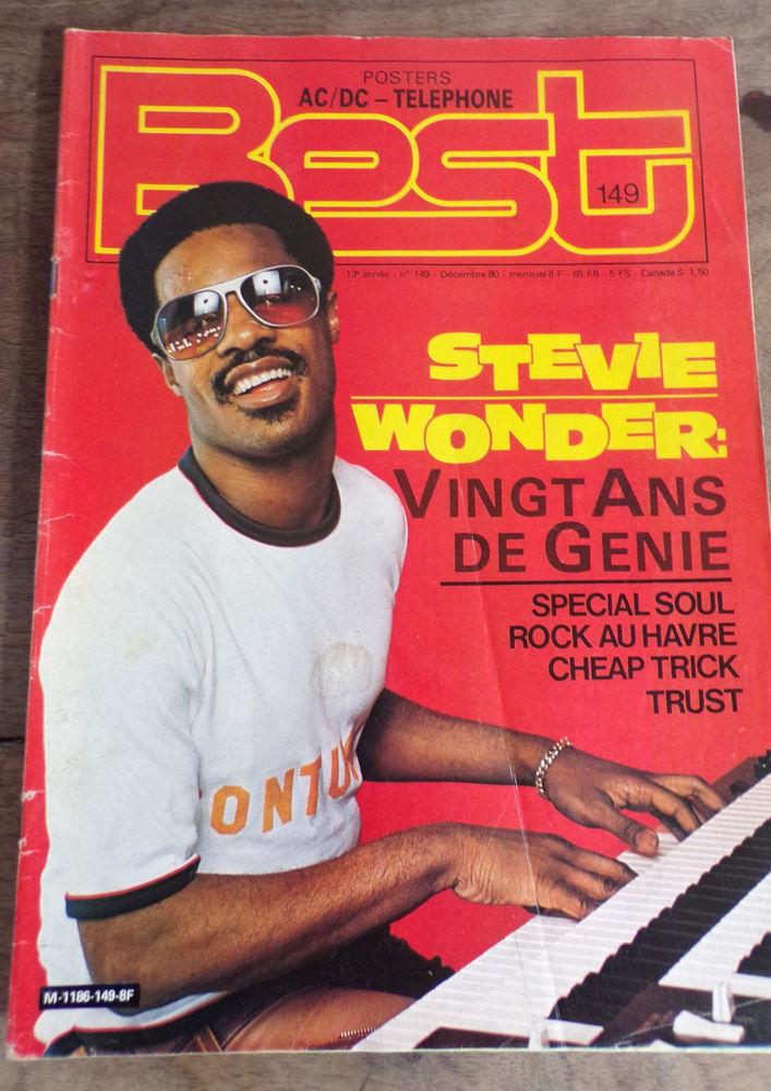 Best revue n° 149 Steve Wonder 1980 5 Laval (53)