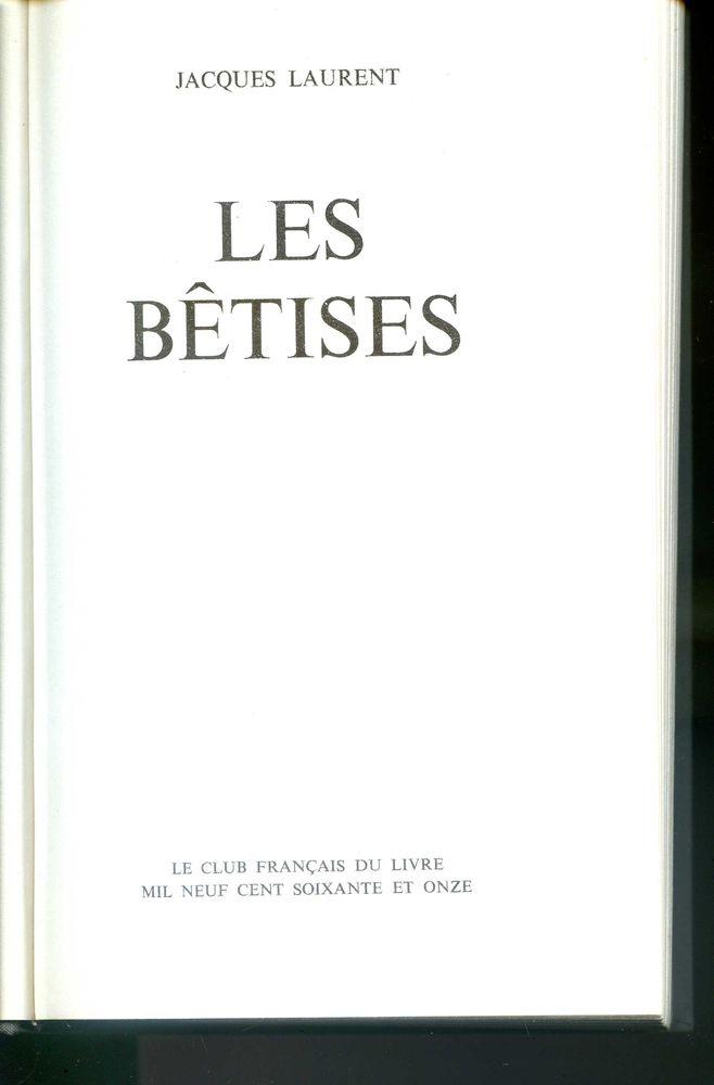 LES BETISES 4 Rennes (35)