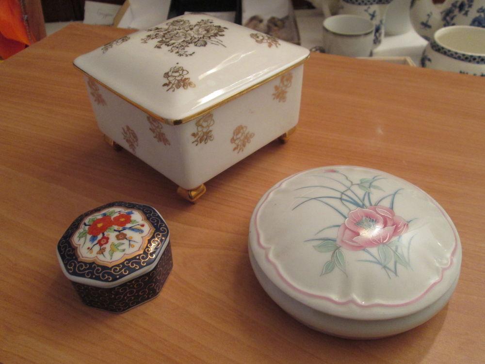 Bibelots décoratifs : boites, vases, coupelles 2 Herblay (95)